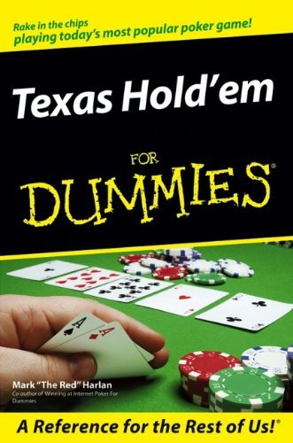 Mark Harlan Texas Hold'em For Dummies