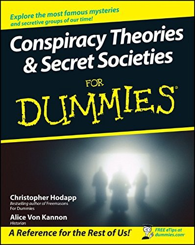 Christopher Hodapp Conspiracy Theories & Secret Societies For Dummies