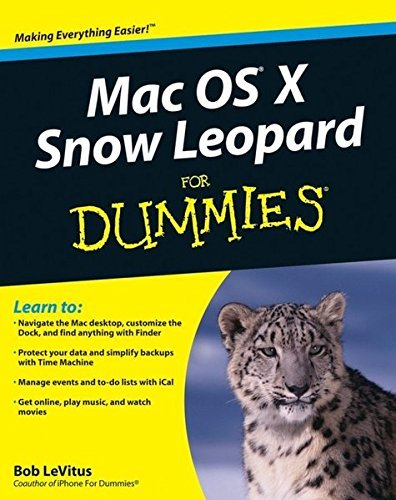 Bob Levitus Mac Os X Snow Leopard For Dummies
