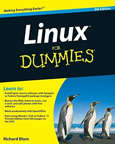 Richard Blum Linux For Dummies [with DVD Rom] 0009 Edition;