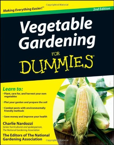 Charlie Nardozzi Vegetable Gardening For Dummies 0002 Edition;