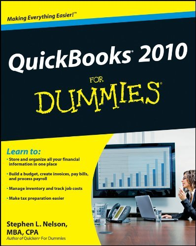 Stephen L. Nelson Quickbooks 2010 For Dummies