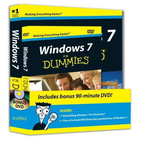 Andy Rathbone Windows 7 For Dummies Book + DVD Bundle [with DVD
