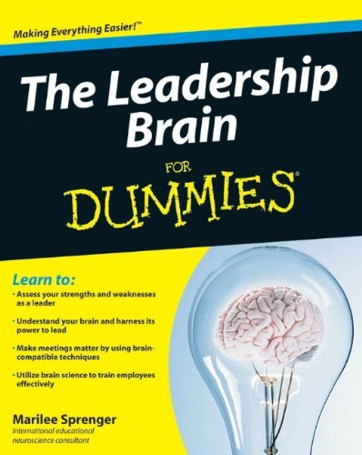 Marilee B. Sprenger The Leadership Brain For Dummies