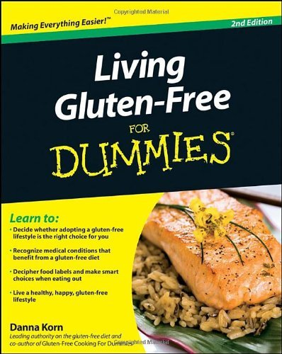 Danna Korn Living Gluten Free For Dummies 0002 Edition;