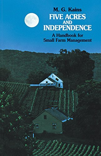 Maurice G. Kains Five Acres And Independence A Handbook For Small Farm Management Revised And Enl