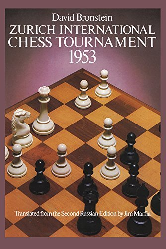 David Bronstein Zurich International Chess Tournament 1953