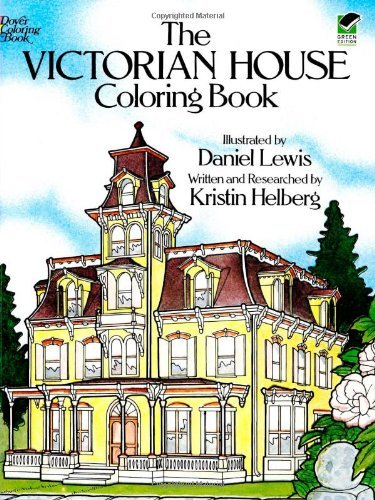 Daniel Lewis The Victorian House Coloring Book