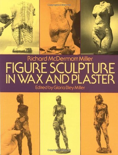 Gloria B. Miller Figure Sculpture In Wax And Plaster