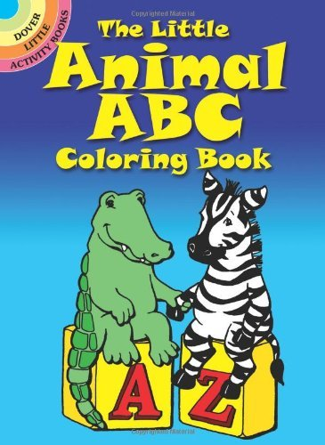 Nina Barbaresi The Little Animal Abc Coloring Book 0080 Edition;revised