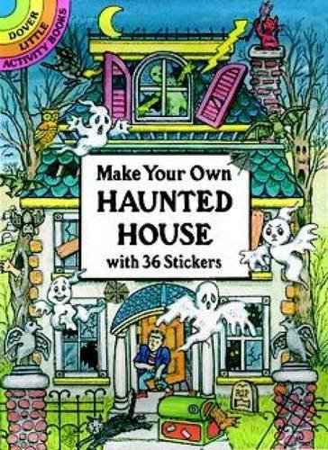 Cathy Beylon Make Your Own Haunted House With 36 Stickers