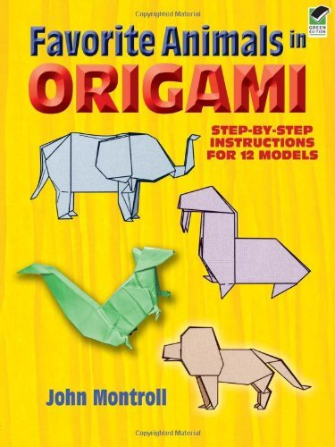 John Montroll Favorite Animals In Origami Green
