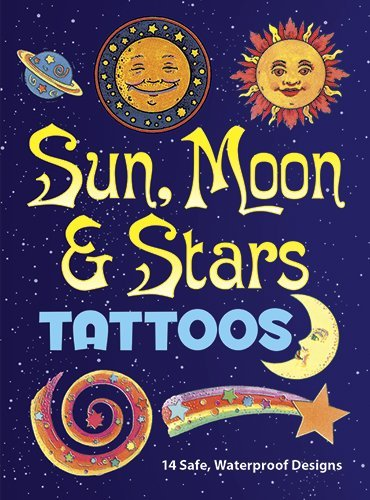 Anna Pomaska Sun Moon And Stars Tattoos [with Tattoos]