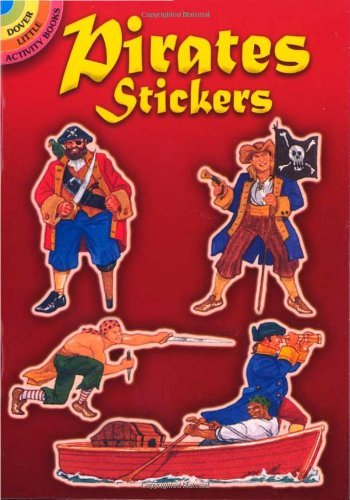 Steven James Petruccio Pirates Stickers
