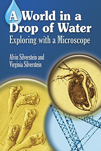 Alvin Silverstein A World In A Drop Of Water Exploring With A Microscope