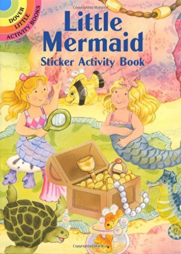 Cathy Beylon Little Mermaid Sticker Activity Book