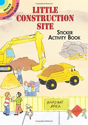 Cathy Beylon Little Construction Site Sticker Activity Book