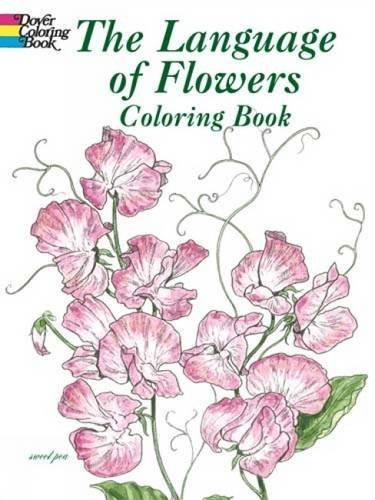 John Green The Language Of Flowers Coloring Book