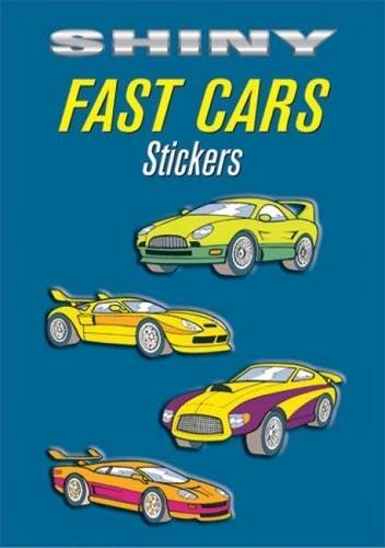 Bruce Lafontaine Shiny Fast Cars Stickers