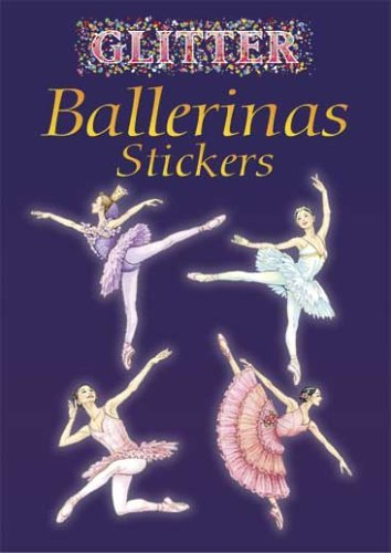 Darcy May Glitter Ballerinas Stickers