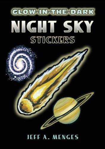 Jeff A. Menges Glow In The Dark Night Sky Stickers