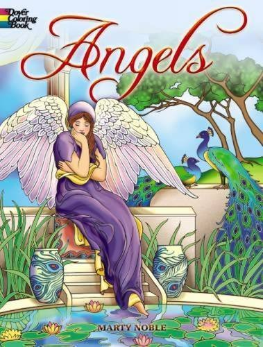 Marty Noble Angels Coloring Book
