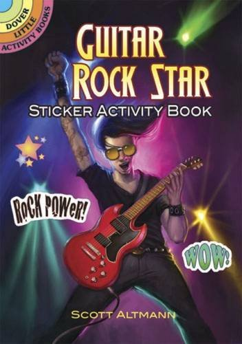 Scott Altmann Guitar Rock Star Sticker Activity Book