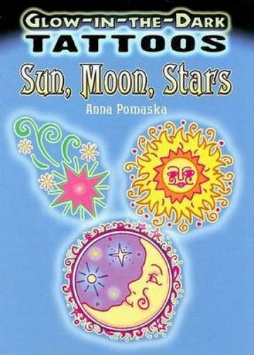 Anna Pomaska Glow In The Dark Tattoos Sun Moon Stars