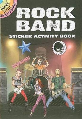 Scott Altmann Rock Band Sticker Activity Book [with Sticker(s)]