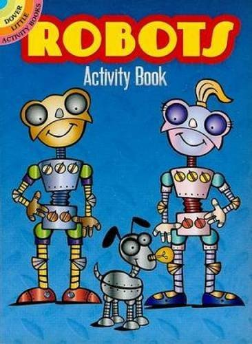 Susan Shaw Russell Robots Activity Book