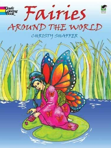 Christy Shaffer Fairies Around The World Green