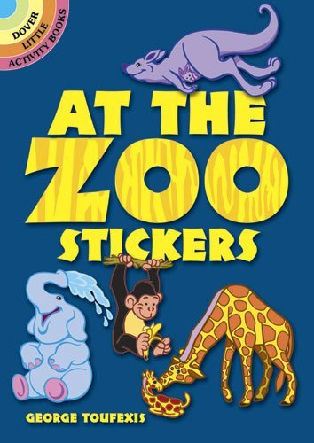 George Toufexis At The Zoo Stickers