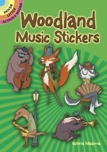 Victoria Maderna Woodland Music Stickers