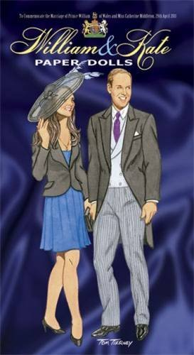 Tom Tierney William And Kate Paper Dolls To Commemorate The Marriage Of Prince William Of