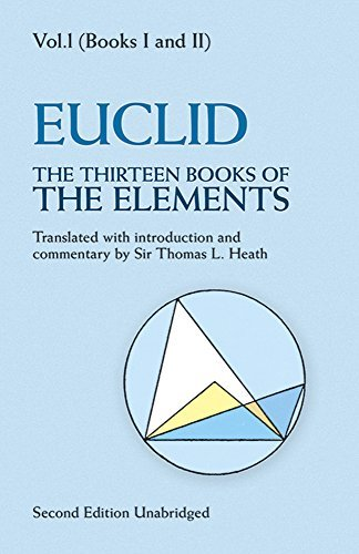 Euclid The Thirteen Books Of The Elements Vol. 1 0002 Edition;