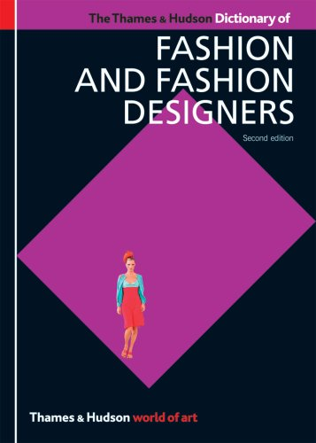 Georgina O'hara Callan The Thames & Hudson Dictionary Of Fashion And Fash 0002 Edition;