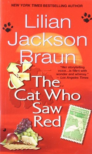 Lilian Jackson Braun The Cat Who Saw Red