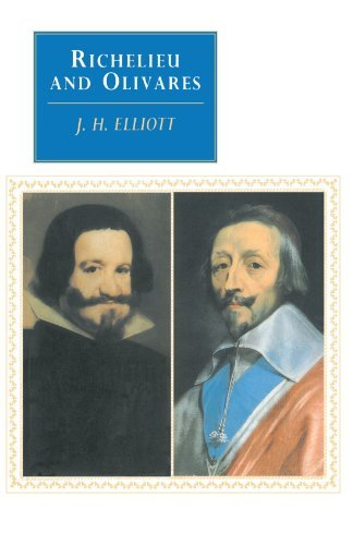 J. H. Elliott Richelieu And Olivares Revised