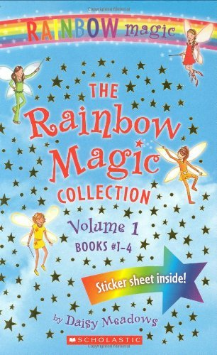 Daisy Meadows Rainbow Magic Collection Volume 1 The Books #1 4 Ruby The Red Fairy Amber The Orange F