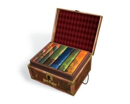 J. K. Rowling Harry Potter Hard Cover Boxed Set Books #1 7 [with Stickers]