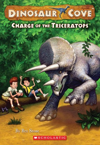 Rex Stone Charge Of The Triceratops
