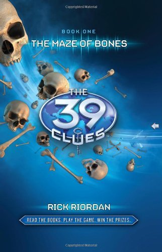 Rick Riordan The Maze Of Bones [with 6 Game Cards]