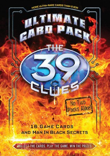 Inc. Scholastic The 39 Clues Card Pack 4 The Ultimate Card Pack Card Game