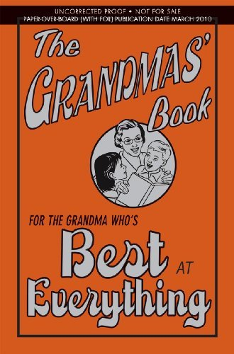 Alison Maloney The Grandmas' Book For The Grandma Who's Best At Everything