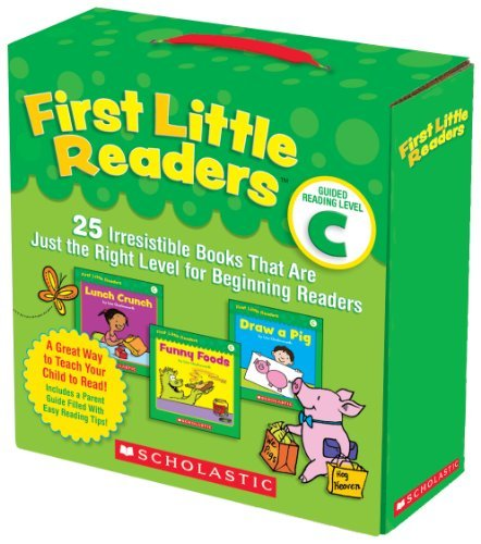 Liza Charlesworth First Little Readers Guided Reading Level C 25 Irresistible Books Th