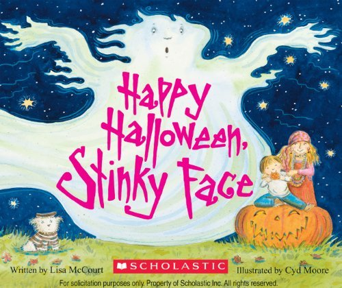 Lisa Mccourt Happy Halloween Stinky Face