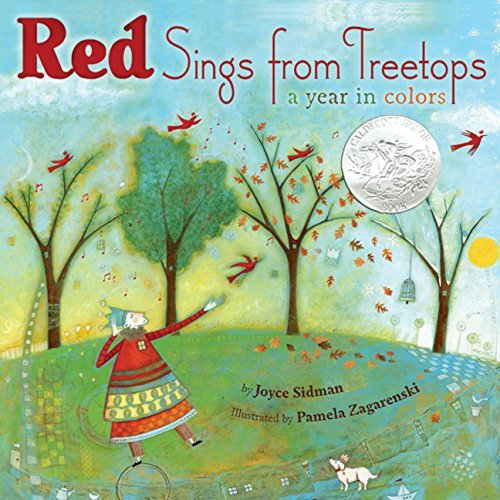 Joyce Sidman Red Sings From Treetops A Year In Colors