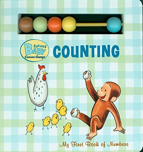 H. A. Rey Curious Baby Counting My First Book Of Numbers [with Beads]