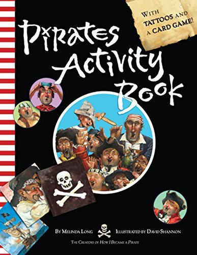 Melinda Long Pirates Activity Book [with Card Game And Tattoos]