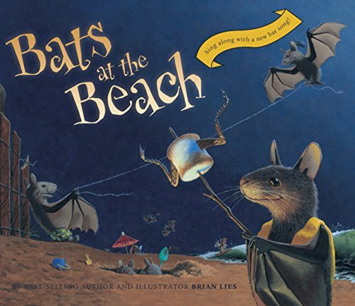 Brian Lies Bats At The Beach